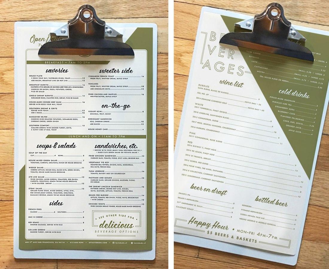 TastebudsSF_menu